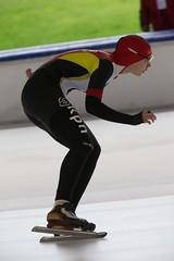 A37W0414 (rieshug 1) Tags: speedskating schaatsen eisschnelllauf skating nkjunioren knsb nkjuniorenallroundafstanden afstanden allround 50010001500massstart demeent alkmaar sportcomplexdemeent juniorenb ladies dames 3000m