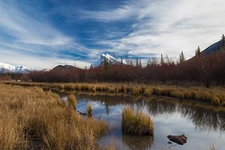 Mt.Rundle over Vermilion Lakes
