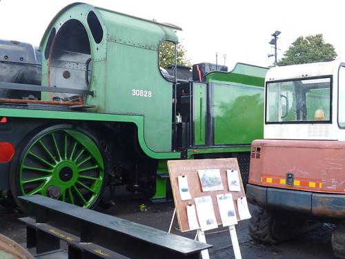 Preserved Southern Railway E828 (BR 30828) 11092016b