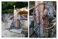 A nouveau chez Virginie et Yann (Chti-breton) Tags: escalier volant fer cuivre