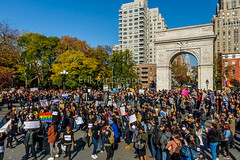 EM-161116-SanctuaryCampus-007 (Minister Erik McGregor) Tags: 2016 activism art blacklivesmatter cosecha donaldtrump dumptrump election2016 endhomophobia endtransphobia erikmcgregor firstamendment gop gayrights lovetrumpshate muslimrights nyc nyu nyurising newyork newyorkcity newyorkers notmypresident peacefulprotest peacefulresistance photography protest rejectpresidentelect safespaces sanctuarycampus stopthehate washingtonsquare womenrights demonstration humanrights immigration rally revolution trump trumpvsallofus ‎solidarity 9172258963 immigrantrights erikrivashotmailcom ©erikmcgregor