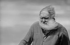 Windy (Frank Fullard) Tags: frankfullard fullard wind windy candid street portrait beard blow gale hair lol fun funny