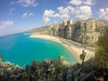 (Ivan S. Almeida) Tags: outdoor seaside blue seascape hill calabria tropea serene