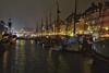 Nyhavn (funk_explosion) Tags: kopenhagen dänemark denmark nyhavn lichter lights hafen habour havn segelboot reflection spiegelung fujixt10 fujinonxf35mm