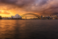 Sydney (Trent Blomfield) Tags: sydney opera house harbour nikon d810 sigma 35mm nsw australia sunset light lit iamnikon