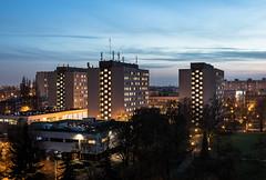 Poznan University of Technology dormitories (Przemek Turlej) Tags: poznan posen polska poland polen st roch skyline cityscape turlej nikond750 put poznanuniversityoftechnology dormitory