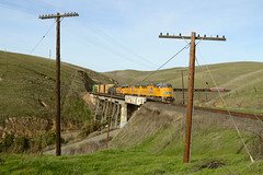 First time to Altamont (CN Southwell) Tags: up union pacific mrvws sd59mx altamont pass wp western