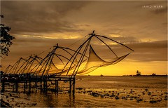 After Sunset FORT KOCHI (Javid Ihsan) Tags: chinese fishing net chinesefishingnet fortkochi fort kochi cochin ernakulam tourism british england jewish ihsan javid nikon canon camera photography sunset sunrise fortkochin