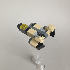 The P-7a 'Percy' (TenorPenny) Tags: lego microscale microspace fightercraft