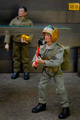 USAF Skyraider Pilot (Polish Madman) Tags: rescue man gijoe toy 40th gold backyard doll fighter force action anniversary air sandy helmet joe vietnam figure usaf pilot gi scramble airbase actionman flightsuit skyraider palitoy