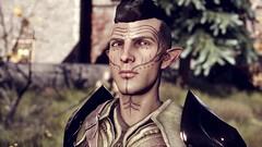 Blackbird (Ayamechan) Tags: elf armor rogue mods daggers wbg inquisitor dalish flycam reshade sweetfx skyhold dragonageinquisition lavellan daicinematictools vallaslin sindellavellan