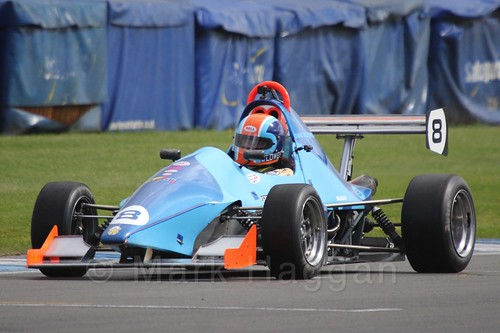 Dan Clowes in Formula Jedi at Donington, September 2015
