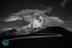 One Haleakala Sunrise (brandon.vincent) Tags: park sky cloud storm night clouds sunrise volcano hawaii maui national haleakala crater lightning