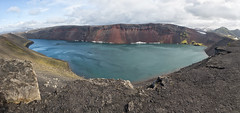 Ljtipollur (jmwill2005) Tags: lake island lava see iceland wolken crater vulcano krater kratersee vulkanismus explosionskrater