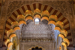 Columns and arches of the Mosque Cathedral of Cordoba (basair) Tags: red spain cathedral islam columns arches mosque arabic cordoba mezquita inside andalusia