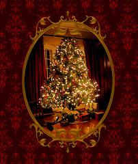 Oh Christmas Tree (susancvineyard) Tags: santa christmas xmas family tree love home pine festive fireplace holidays traditional victorian christmastree christmaslights ornaments presents fir historical christmaseve oldfashioned christmasdinner christmasmorning jeweltones susanvineyard
