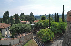 View of Tuscany from Fort Belvedere (littlestschnauzer) Tags: trip trees summer vacation italy holiday florence view fort tuscany belvedere walls surrounds steep 2015