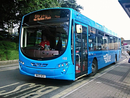 Plymouth Citybus WA12 ACV.  102