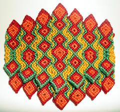 078 Täschchen (knotting_herbert) Tags: knotting täschchen knüpfen