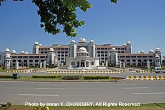 A View of Prime Minister Secretariat, Islamabad- Photo by Imran Y. CHOUDHRY