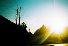 E101183-R1-25-26 (Savviesmith) Tags: camera new winter christchurch sky sunlight film skyline 35mm lomo lomography saturated silhouettes blurred olympus zealand glowing brightness