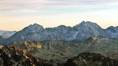 Le Bugatet (2877 m) - Le Pic Méchant (2944 m)