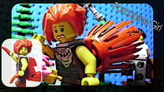 Juke Box Hero Contest - Porcupine Girl (andresignatius) Tags: lego superhero heroin minifigure minifigures