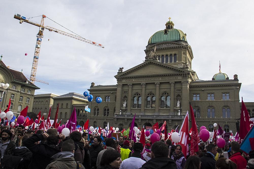 Manifestação direitos da mulher