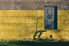 Saint-Petersburg. (korolland) Tags: door city yellow steps saintpetersburg minimalizm outstandingshots