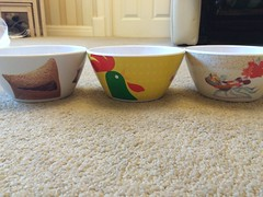 Cereal Bowls (Elysia in Wonderland) Tags: cereal competition winner prize win bowls cornflakes won kelloggs krave