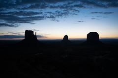 Dawn, Monument Valley (Ruth Ferrier) Tags: arizona usa america dawn utah butte navajo daybreak mitten