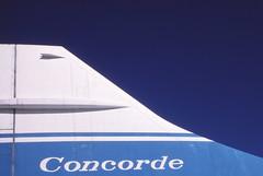 Concorde tail (Pentakrom) Tags: concorde duxford bac iwm aerospatiale gaxdn