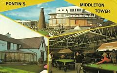 Pontins Middleton Tower Holiday Camp (trainsandstuff) Tags: vintage postcard retro pontins holidaycamp middletontower