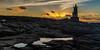 Le soleil se lève sur Kerroch .... (Explore) (RVBO) Tags: sunset sea brittany bretagne breizh morbihan phare bzh océan canon7d