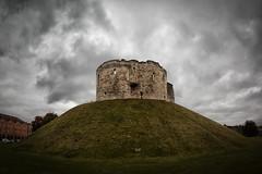 Dark Skies (jamesromanl17) Tags: sky skies cloud clouds grass cloudscape landscape cityscape castle york