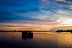 Sunset (roizroiz) Tags: ocean sunset summer portrait sky lake beach colors clouds composition photoshop landscape photography mar interestingness shadows playa paisaje full verano punta panama oceano composed beautifulsunset chame i500