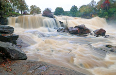 Reedy River High (107) (V-rider) Tags: bridge sc water rain river flow rocks downtown trail waterfalls ralph current greenville muddy reedy rhm swamprabbit waterfll canon6d vrider97 rhmfoto mayerphotoscom rhmphotgraphytllc
