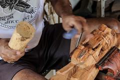 Arteso (Eliane_Carvalho) Tags: brasil minas arte artesanato mg madeira mos gonalves trabalhomanual torno carranca arteso elianecarvalho