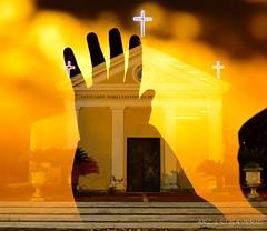 Pace (MIR) (Arcieri Saverio) Tags: art angel still nikon chiesa luce fede speranza preghiera sovrapposizioni sovrapposizione d5100