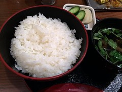 Rice bowl from UnaTetsu @ Asakusa (Fuyuhiko) Tags: from rice bowl asakusa ご飯 浅草 串 鰻肝 鰻てつ 鵜轍 unatetsu 鵜な鉄