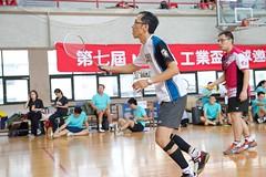 7thMoxaBadmintonIndustrialCup153 (Josh Pao) Tags: badminton 師大附中 羽球 大安站 moxa 第七屆 邀請賽 艾訊 四零四 axiomtek 工業盃 工業電腦盃