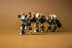 "Terrain troopers - DKT7 ""Walker"" (Devid VII) Tags: terrain trooper detail mobile war lego military details mini troopers suit walker crew wars vii mecha mech moc drone 2015 devid foitsop devidvii dkt7"
