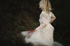 Encounter with defeat.... (privizzinis passion photography) Tags: people motion girl childhood vintage children outside outdoors movement child dress outdoor lace twirl