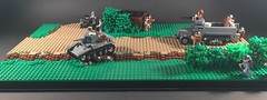 Operation Marketgarden (ALLIED BRICKS) Tags: holland netherlands lego german ww2 british m3 halftrack