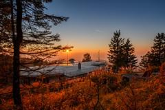 Entspannter Sonnenuntergang (simonpe86) Tags: entspannung sunset schauinsland nature sonnenuntergang blackforest relaxed schwarzwald calm natur dusk