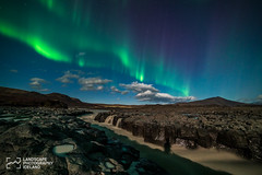 Aurora_Geita-161014_DSC1023.jpg (Jokull) Tags: photo night samyang14mm palljokull borgarfjrur auroraborealis 2016 northernlights hsafell iceland waterfall vesturland westiceland photography autumn geit river europe sonya7rii lights landoficeandfire nordic northerneurope rennsli stream water aurora outdoor