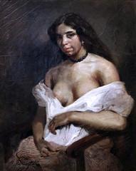 IMG_3353E  Eugne Delacroix. 1798-1863. Paris. Aspasie. vers 1824.   Montpellier Muse Fabre. (jean louis mazieres) Tags: peintres peintures painting muse museum museo france montpellier musefabre eugnedelacroix