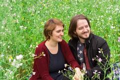 Ronja und Dennis (tanja jooonsen) Tags: paar people love harmonie harmony outdoor sweet forrest liebe kuss kiss twoesome lovers pair couple smile