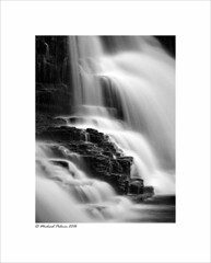 Crammel Linn (Mike Palmer Fauxtography) Tags: crammel linn waterfall northumberland gilsland spa river irthing water le long exposure rock movement canon eos 7d f28135mm f3556 is usm lee filters little stopper nd michaelpalmer fauxtography monochrome mono bw gorge sssi