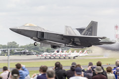 F-22 Raptor (Perfect Moment Images) Tags: raf fairford stealth fighter usaf raptor f22